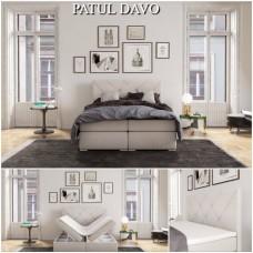 PAT DAVO cu ladă de depozitare