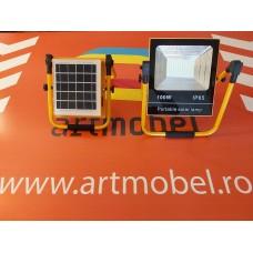 Proiector LED PORTABIL (100W) COD:SF-C68100